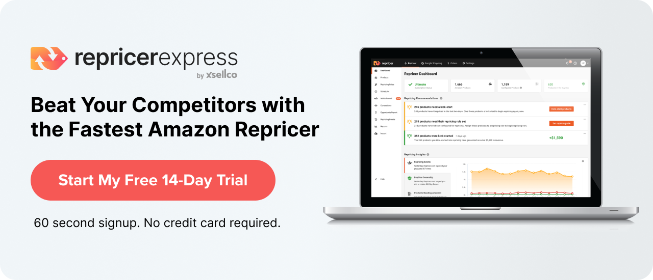Amazon repricing software free trial