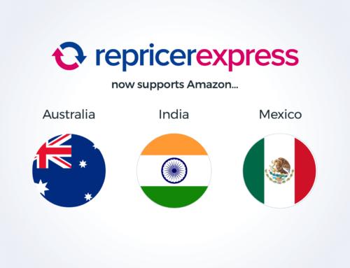 RepricerExpress Adds Three New Amazon Marketplaces