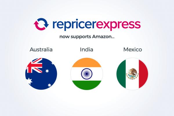 New Amazon marketplaces