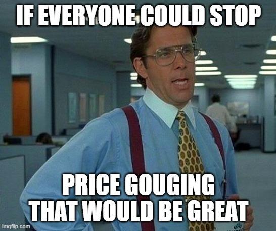 Price gouging Amazon